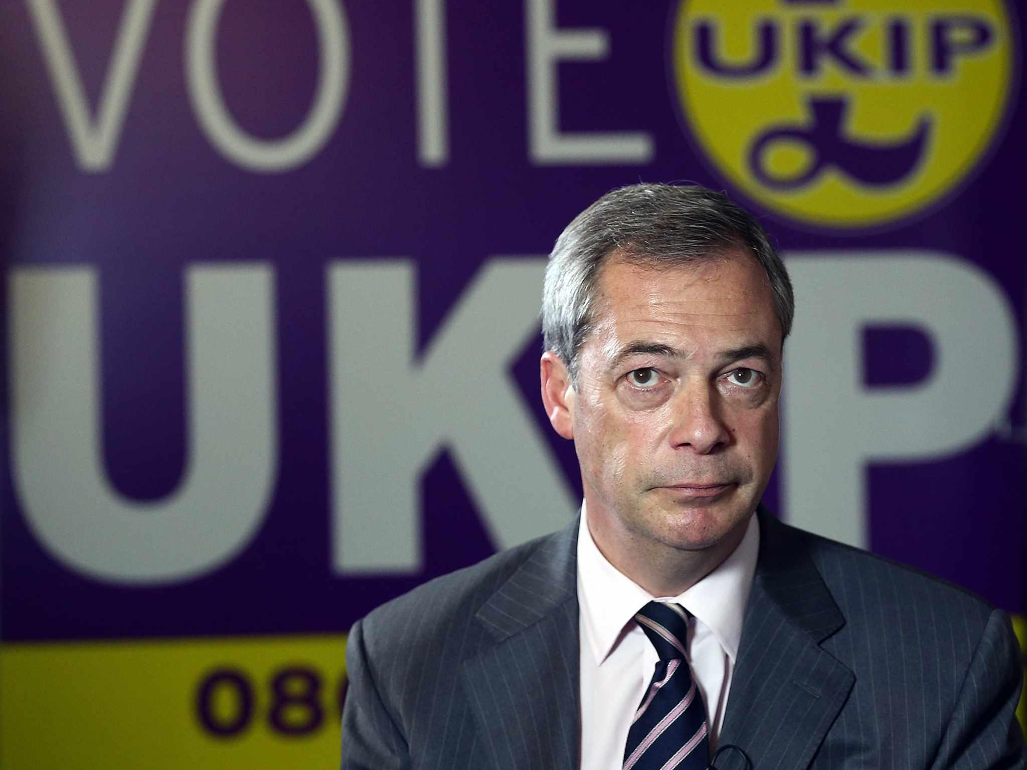Nigel Farage lascia la leadership dello Ukip