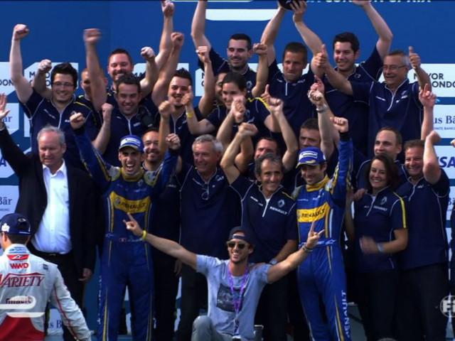 Buemi su Renault è il nuovo Campione del Mondo di Formula E!