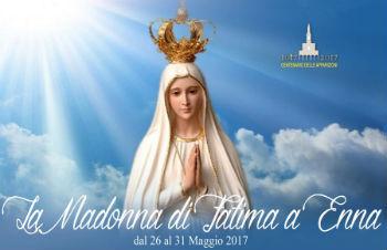 Madonna a Fatima. La città di Enna si appresta a vivere un grande momento di fede