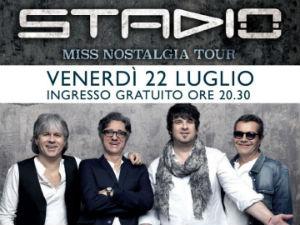 """Primo """"concerto sotto le stelle"""" al Sicilia Outlet Village con gli STADIO"""