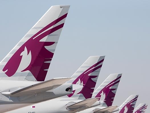 Qatar Airways' maiden flight lands at Václav Havel Airport Prague | Aviation