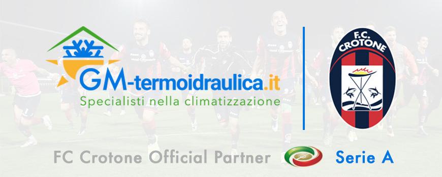 GM Termoidraulica è il nuovo sponsor del Crotone: insieme per conquistare la vetta