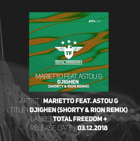 Marietto feat. Astou G - Djighen (Total Freedom Recordings)