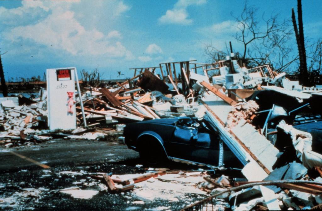 23 agosto 1992: L'uragano Andrew arriva in Florida