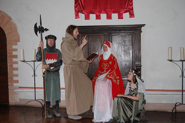 Castello di Gropparello (PC): il fatidico Sposalizio
