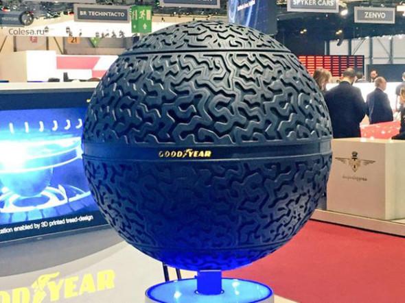 È una sfera lo pneumatico del futuro