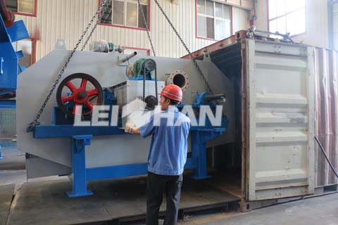 150T/D Wrapping Paper Pulp Machine In Egypt