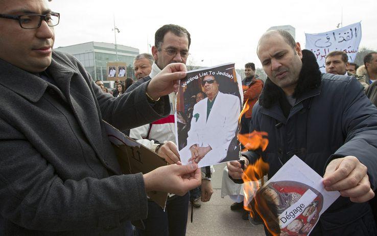 """17 febbraio 2011: In Libia al via la """"giornata della collera"""""""