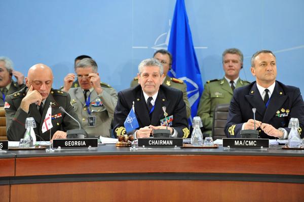 14 novembre 2007: L'Ammiraglio Di Paola Presidente del comitato militare della NATO