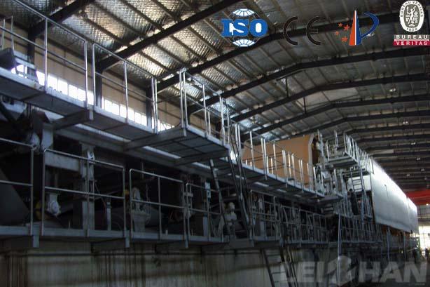High Strength Corrugated Paper Making Machine