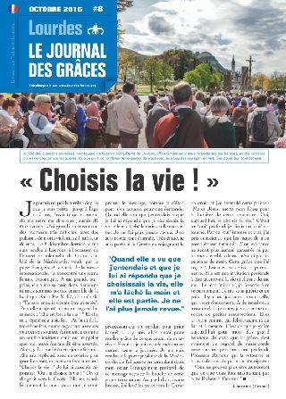 Le journal des grâces (octobre 2016)