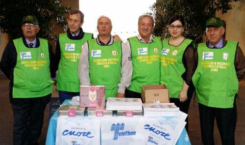 L'ANFI di Enna partecipa alla Campagna di Primavera promossa dalla Fondazione Telethon