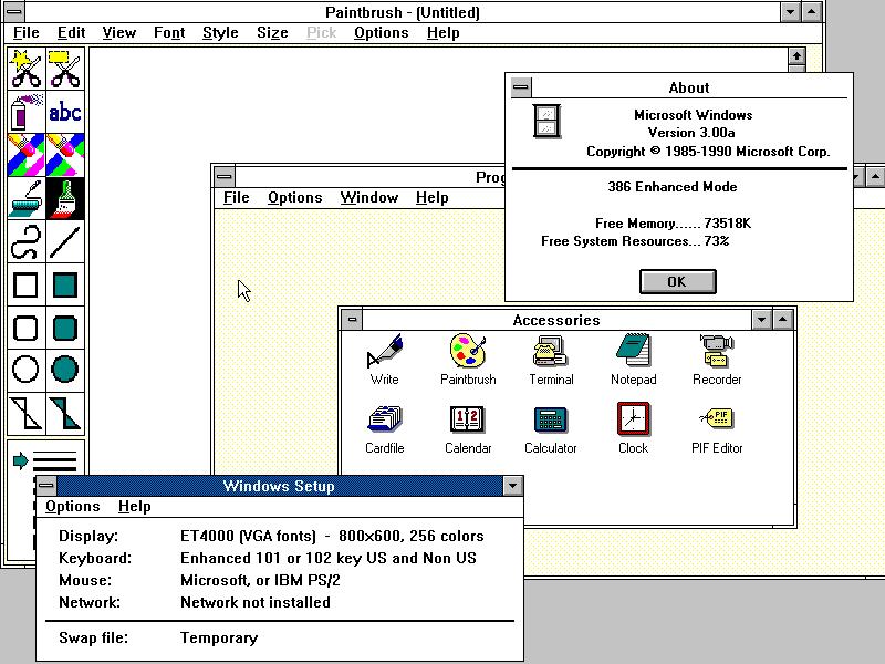 22 maggio 1989: La Microsoft rilascia Windows 3.0