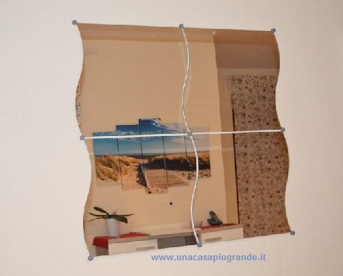 Arredamento: lo specchio Krabb di ikea