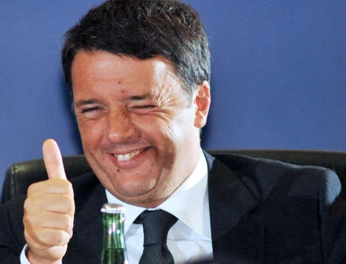 Matteo Renzi lunedì ha incontrato a Milano Barack Obama