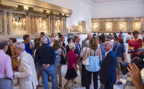 Riapre il museo Salinas che ospita le Metope di Selinunte