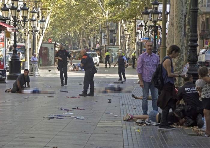Anche italiani tra le vittime dell'attentato di Barcellona
