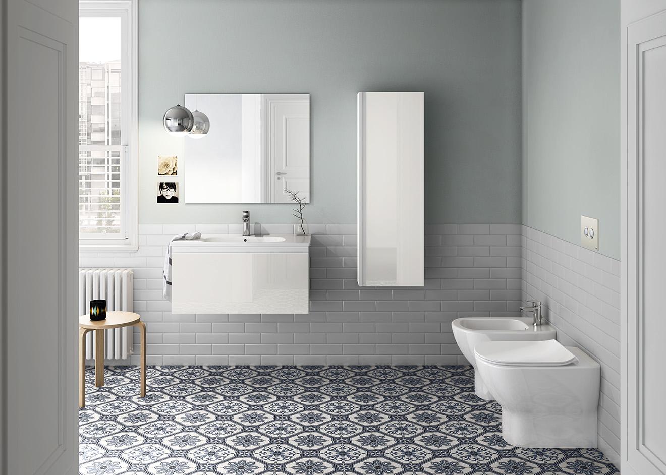 Tesi e Ceramix per un bagno di tendenza