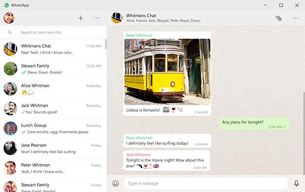 WhatsApp disponibile per Mac