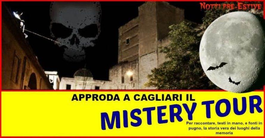 TOUR MISTERY a Cagliari: ven 13 mag 2016