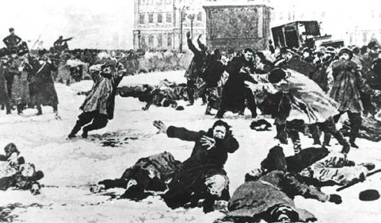 22 gennaio 1905: Domenica di sangue a San Pietroburgo