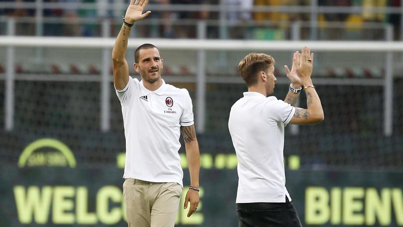 Lazio-Milan: cosa si sono detti Immobile e Bonucci a fine partita?
