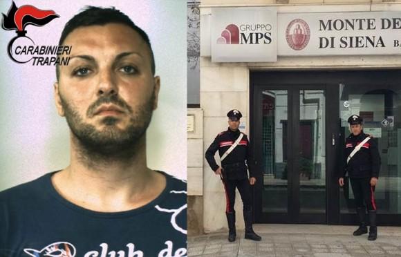 I dettagli sulla rapina a Castelvetrano. Fermato 28enne
