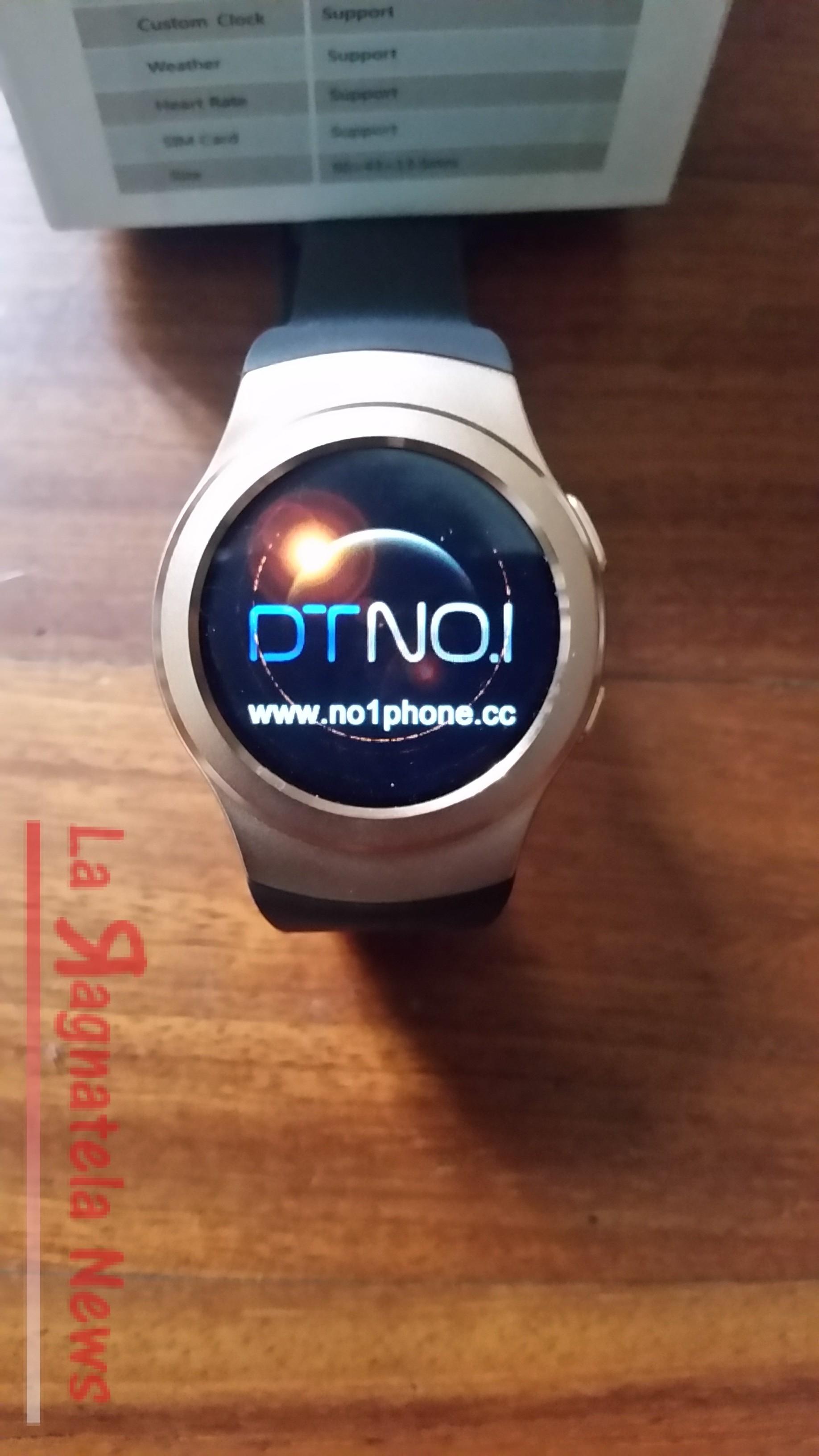 Smartwatch No.1 G3 dal produttore Cinese un supporto moderno ed economico