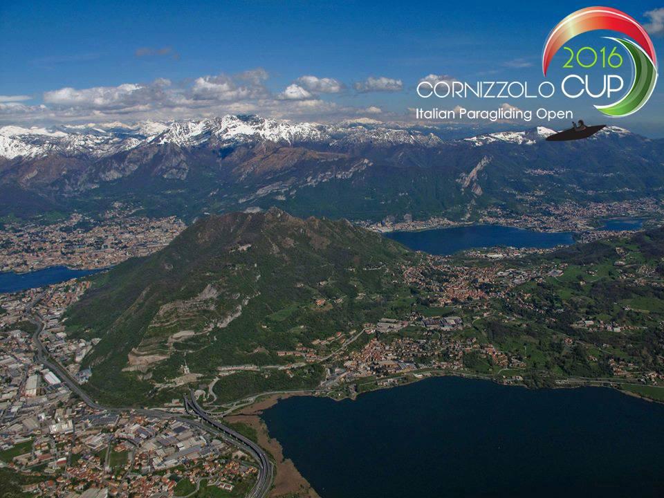 In volo nei cieli di Lecco e della Brianza per i campionati italiani di parapendio