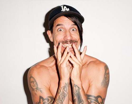 Anthony Kiedis dei Red Hot Chili Peppers ricoverato in ospedale
