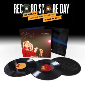 -28 al Record Store Day: David Bowie, Cracked Actor