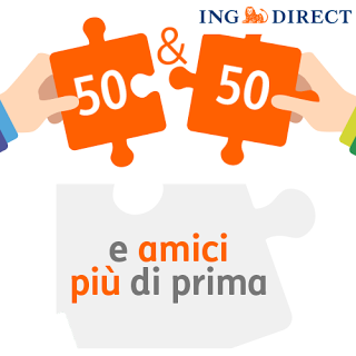 Presenta un Amico e ricevi 50€ - Promozione Ing Direct