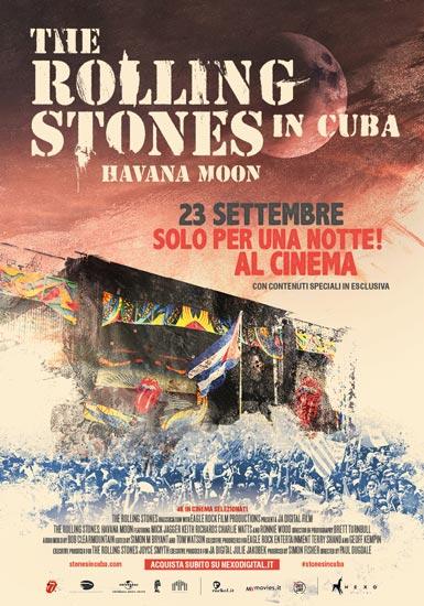 Al cinema arriva il mitico concerto The Rolling Stones. Havana Moon in Cuba
