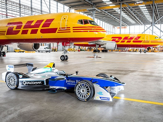 DHL delivers all-electric Formula E racing cars to New York city | Air Cargo
