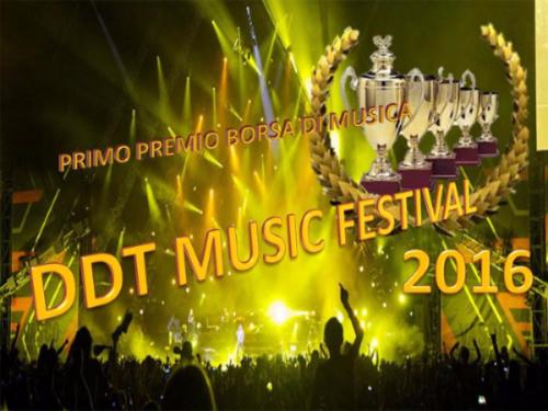 DDT Music Festival per cantautori, interpreti, band e formazioni varie
