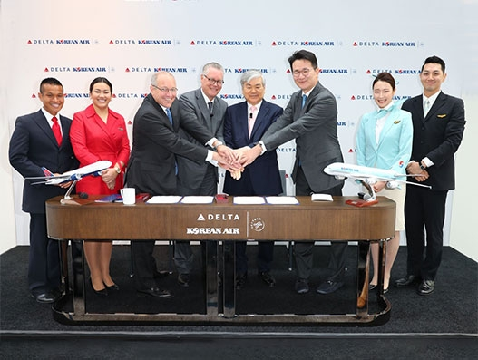 Delta and Korean Air enter into trans-Pacific Joint Venture | Aviation