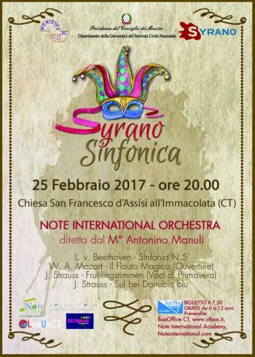 Note International Orchestra: Concerto di Carnevale (25 febbraio 2017)