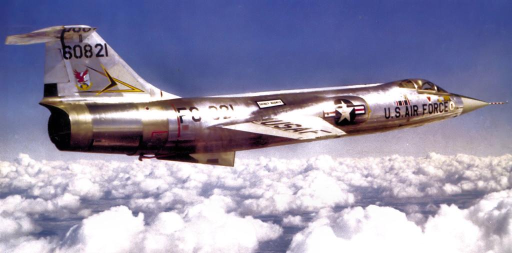 18 maggio 1958: L'F-104A stabilisce il record di velocità in volo
