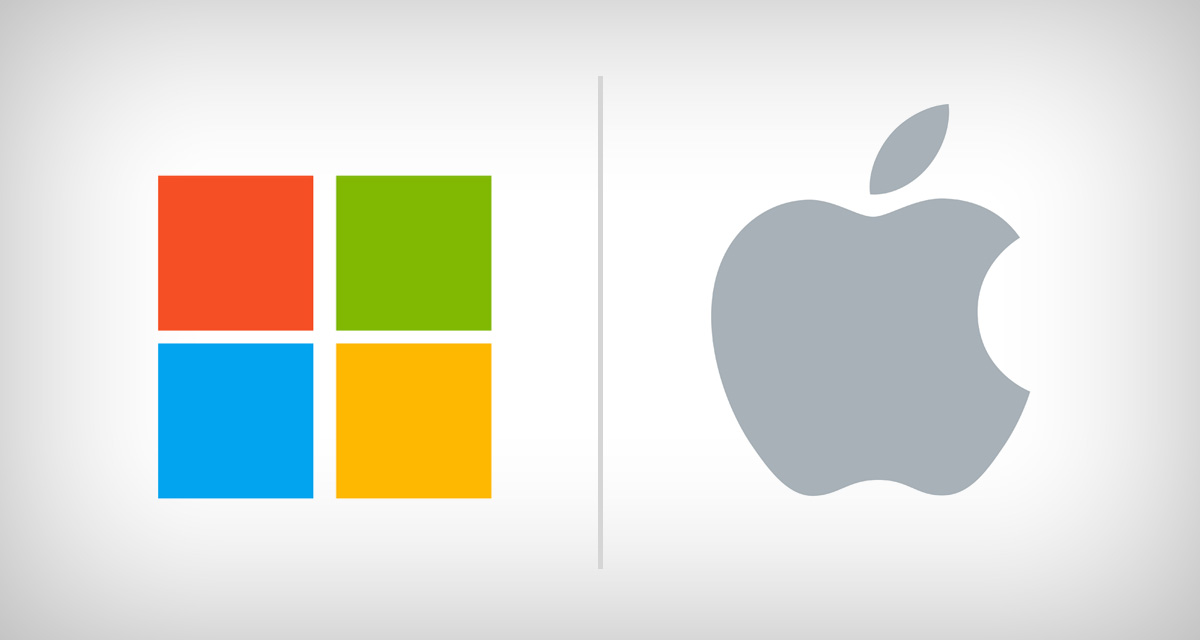 Apple copia Microsoft, di nuovo!