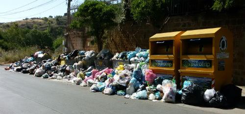 Altra emergenza rifiuti a Valguarnera