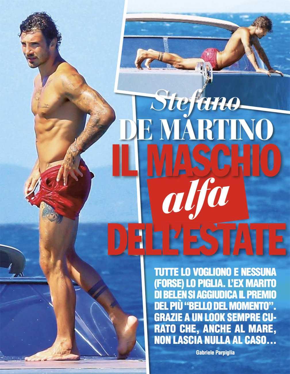Stefano De Marino in costume è un vero… I nuovi scatti