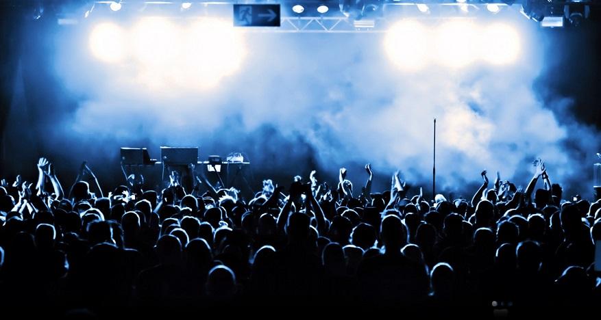 Il fumo nei concerti come lo fanno?