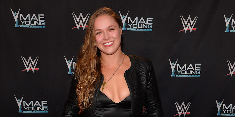 La Campionessa Ronda Rousey ha firmato un contratto con la World Wrestling Entertainment