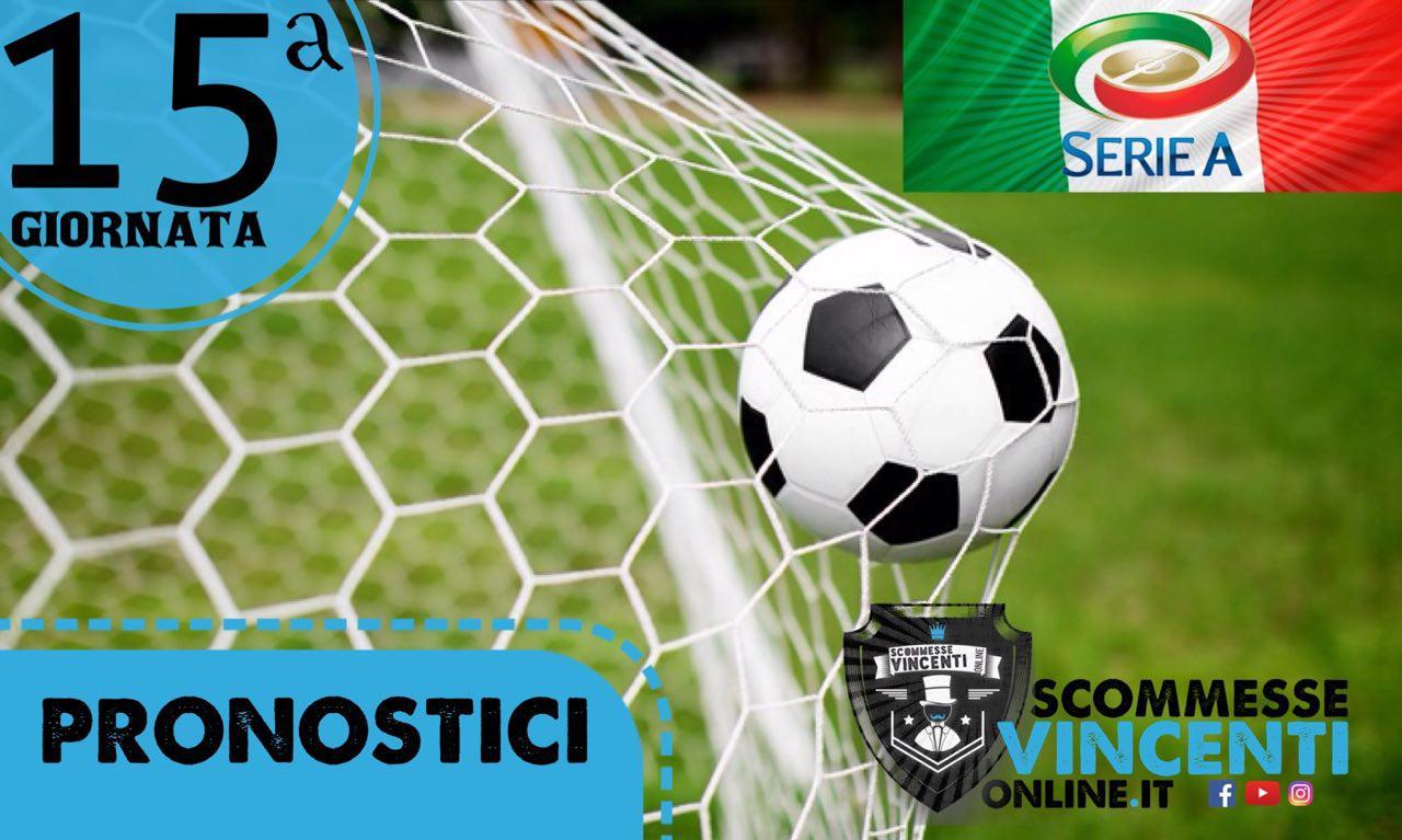 Scommesse Vincenti Serie A: quindicesima giornata dal 2 al 5 dicembre