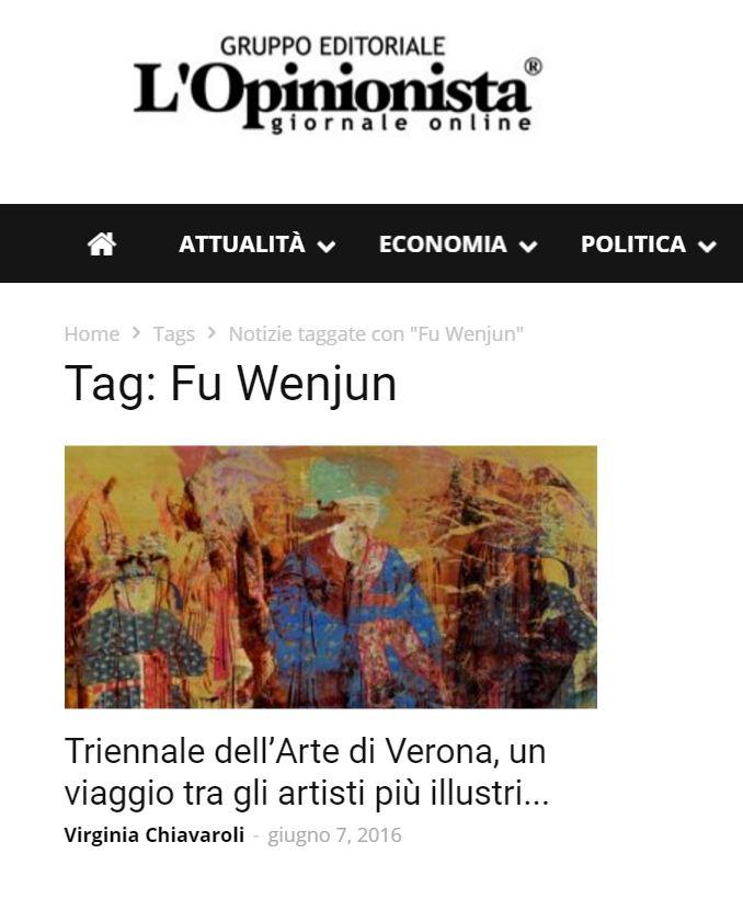 Triennale d'Arte Contemporanea di Verona, dalla Cina la fotografia concettuale di Fu Wenjun