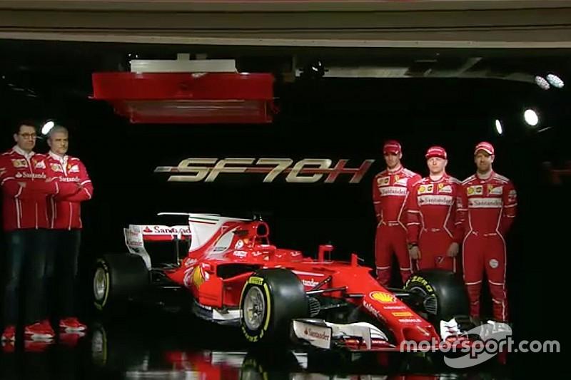 Prsentata la SF70H, la nuova Ferrari 2017