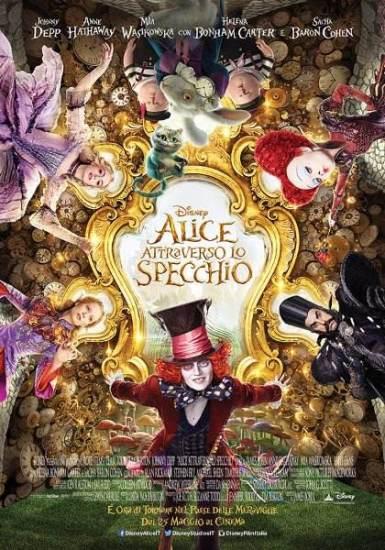 Alice torna al cinema con ALICE ATTRAVERSO LO SPECCHIO