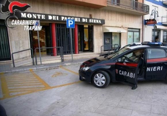 Rapina in banca a Mazara. Arrestati 4 malviventi