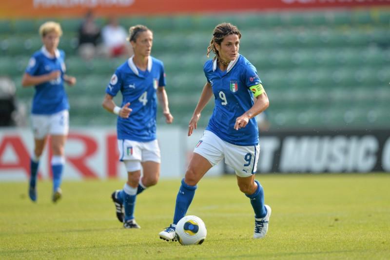 La Panico nello staff dell'Under 16 italiana, la prima donna in una nazionale maschile