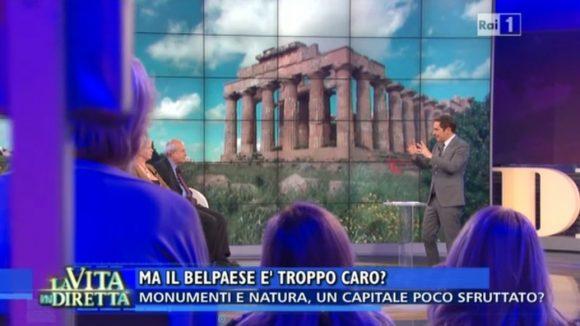 """Il Belpaese troppo caro. SELINUNTE a """"La Vita in Diretta"""" – ennesimo """"attacco gratuito"""" al nostro..."""